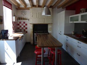 La maison des caves g te chateauvieux loir et cher for Tarif cuisine amenagee