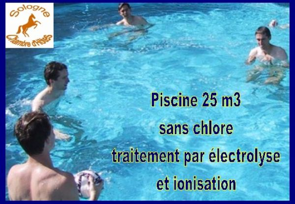Photos h bergement mobilhome en sologne for Piscine paris sans chlore