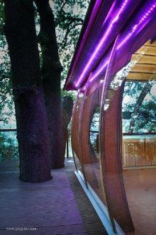 la cabane de millau s jour insolite en cabane perch e millau aveyron. Black Bedroom Furniture Sets. Home Design Ideas