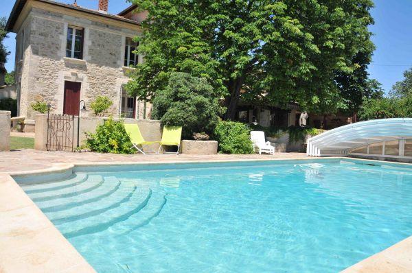 Gite la campagne g te de charme p z nas herault - Pezenas piscine ...