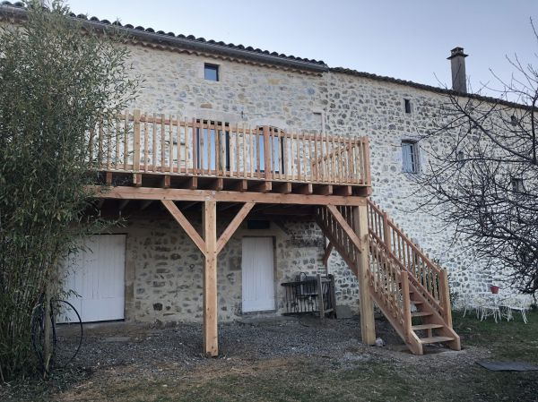 Chambre authentique en suite parentale