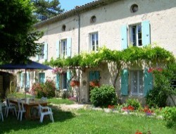 Bed and Breakfast near Montelimar in the Drome near Saillans
