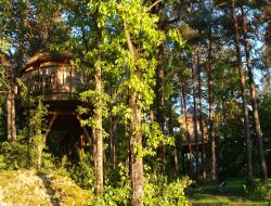 Unusual stay in a Perched Hut near Millau near Aguessac