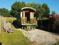 Vacances en roulottes en Dordogne.