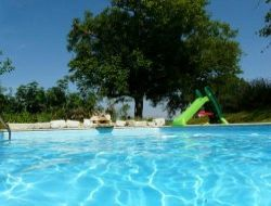 Holiday home with pool in the Lot et Garonne, Aquitaine near Saint Pantaleon