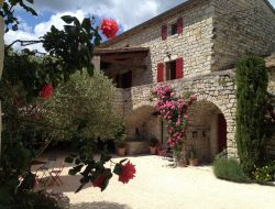 B & B in Ardeche department of Rhone Alps.