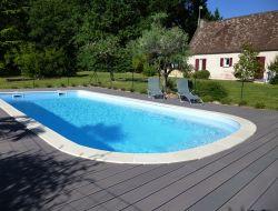 Maison de vacances avec piscine en Dordogne.
