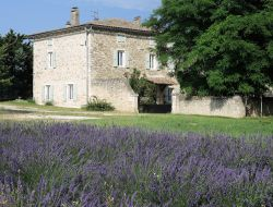 Holiday home close to Montelimar in France.