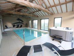 Gite avec piscine chauffée en Vendée.
