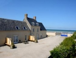 Seafront cottage in the Normandy.