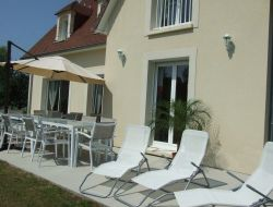 Holiday rental near Deauville in Normandy near Fauguernon