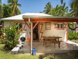 Holiday villa with swimming pool in Guadeloupe island. near Petit Bourg
