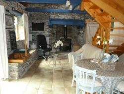 Holiday home in the center of Brittany in France. near Plonevez du Faou