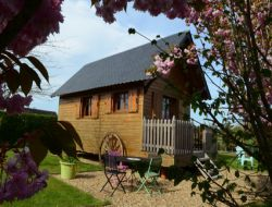 Holidays in gypsy caravan in Normandy