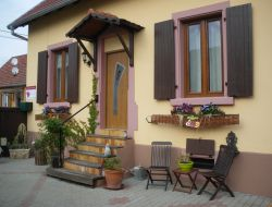 Holiday rental close to Selestat in Alsace.