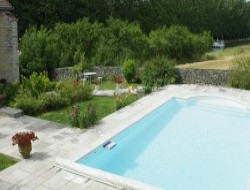Bed and Breakfast with pool and sauna in Burgundy.