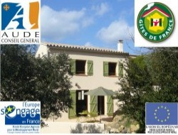 Holidays in ecological cottage in south of France near Maury