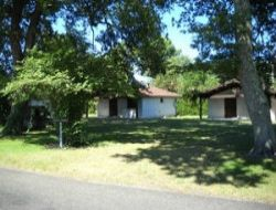 Holiday village in the Lot et Garonne, Aquitaine.
