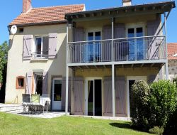 Holiday home close to Vulcania park in France.