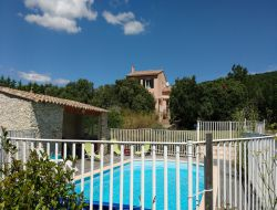Holiday villa with pool in the Drome, Rhone Alps.