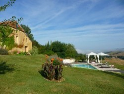 Holiday cottage in the Gers, Midi Pyrenees region.