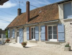 Holiday cottage between Blois and Vendome in the center of France. near La Chapelle Saint Martin en Plaine