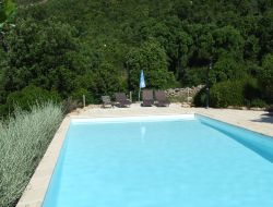 Gites avec piscine a porto vecchio.