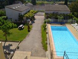 Gites avec piscine a Vallon Pont d'Arc en Ardeche.