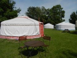 Unusual stay in yurt near the Loire Castles in France. near Chalonnes sur Loire