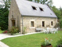 Holiday cottage in center Brittany.