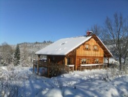 Holiday chalet in Vosges, Lorraine, France.