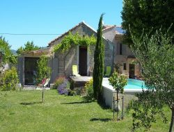 Holiday home with pool in South of France. near Villedieu
