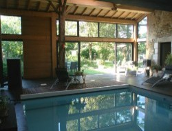 B&B with indoor pool and spa in Vendee, Loire Area.