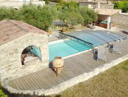 Gite avec piscine a louer dans les cevennes (30).