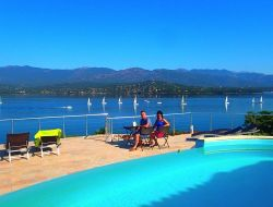 Seafront B&B in southern Corsica