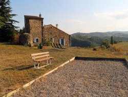 Rural accommodation in Ardeche, Rhone Alps near Saint Julien Labrousse