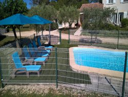 Holiday home with pool near Ales in the Gard, Languedoc Roussillon. near Uzes