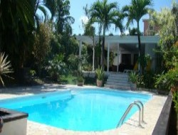 B&B with pool in antilles guadeloupe island