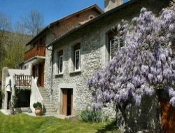 Holiday cottage near Foix in French Pyrenees mountains
