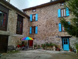Holiday home with pool near Foix in Pyrenees.
