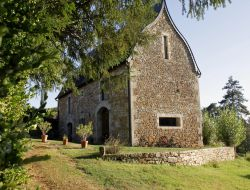 Character cottage in the Lot, Midi Pyrenees near Reyrevignes