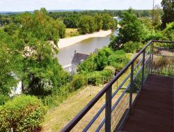 Ecological B&B close to Saumur in France.