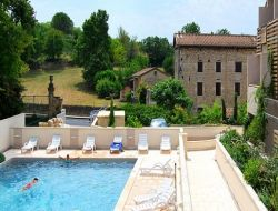 Holiday residence with pool in Languedoc Roussillon. near Saint Privat de Champclos