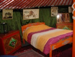 Unusual stay in yurt in the Languedoc Roussillon near Bolquere
