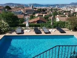 Bed & Breakfast in Toulon, Provence.