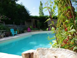 B&B with pool near Valence in Rhone Alps. near Alba la Romaine