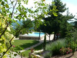 Holiday homes with pool near Millau in Midi Pyrenees near Saint Maurice de Sorgues