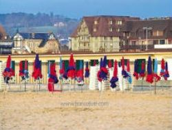Holiday rental in Deauville, Normandy.