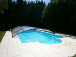 Holiday rental with heated pool in southern Brittany. near Locoal Mendon