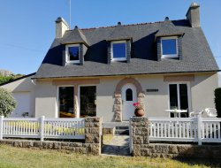 Holiday home near Lannion in Brittany.